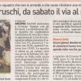 Articolo da: Il Tirreno, Settembre 2012: