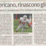 FOOTBALL AMERICANO, rinascono gli Etruschi