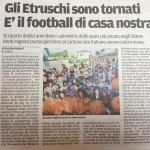 Gli Etruschi sono tornati, è il football di casa nostra