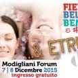 Lunedì 7 e Martedì 8 Dicembre 2015, presso il Modigliani Forum, ci sarà la Fiera della Bellezza e Benessere & […]
