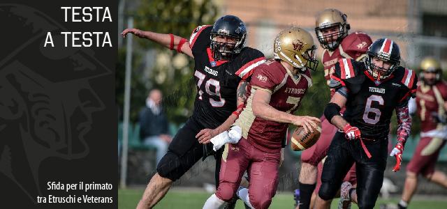 Due squadre mai sazie, che hanno già staccato il biglietto per i play-off, si daranno battaglia all'Etruschi Football Field in […]